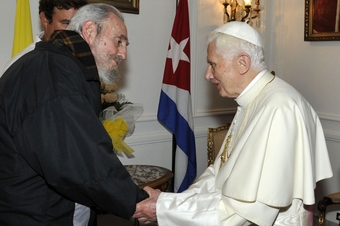 Castro and the Pope