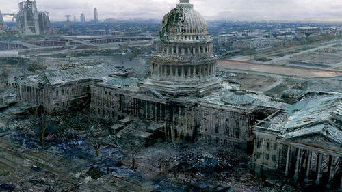 Destroyed Capitol