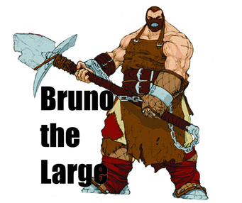 Bruno the Large title art