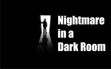 Nightmare in a Dark Room Title art