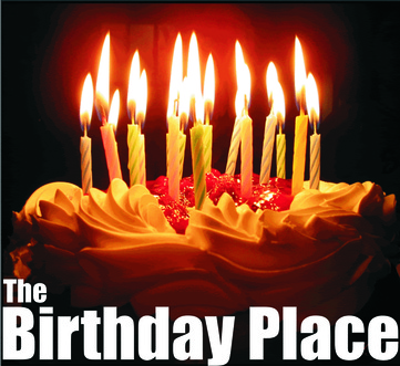 The Birthday Place title art