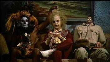 Scene from Beetlejuice